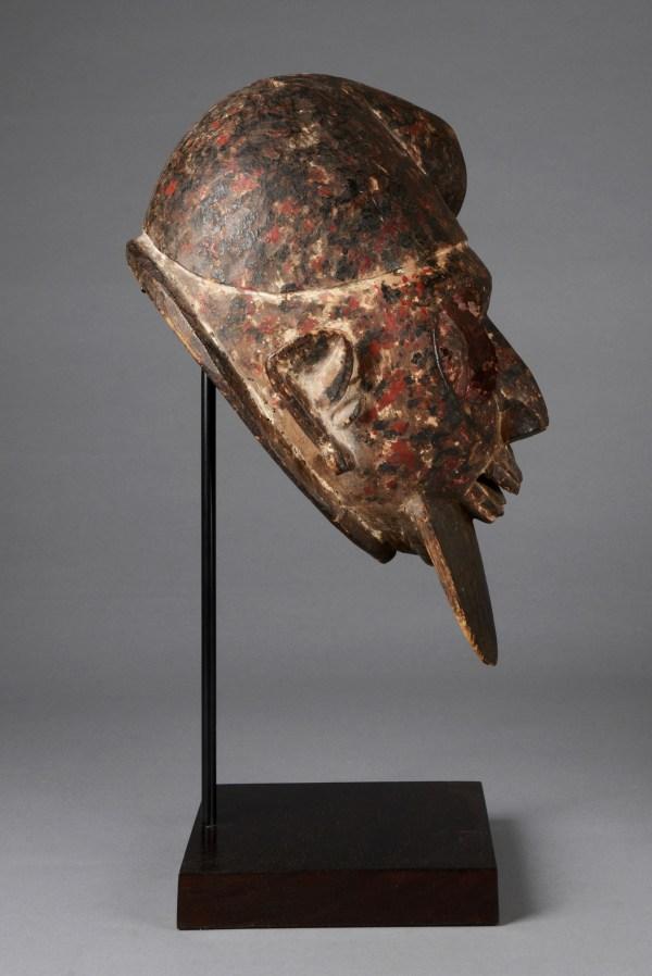"""Helmet Mask """"gelede"""" - Auctionhouse Zemanek-nster"""