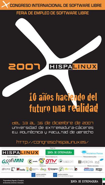 Cartel del Congreso de Hispalinux