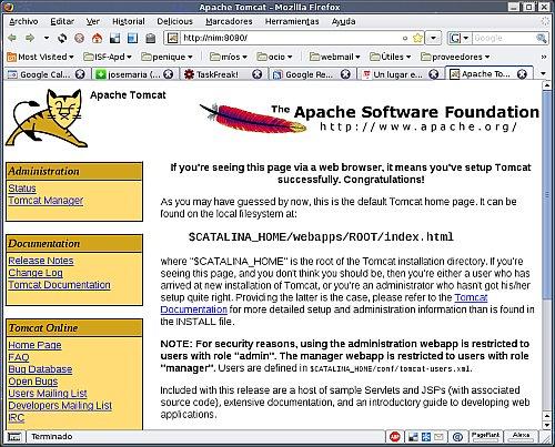 Tomcat 6 en Debian 4