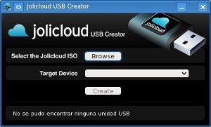 Jolicloud USB creator