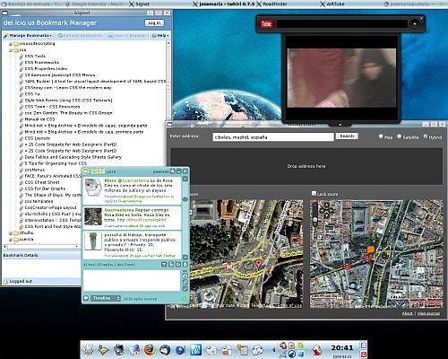 Aplicaciones con Adobe Air en Linux