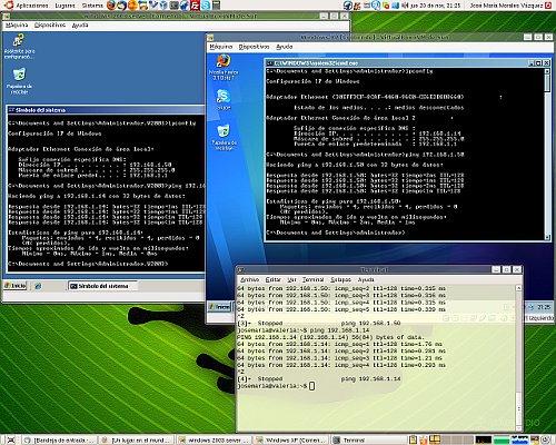Configurando VirtualBox con bridge-utils