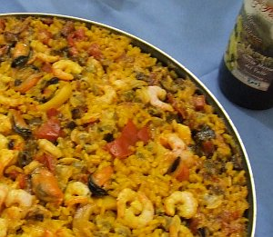 Arroz ciego de marisco