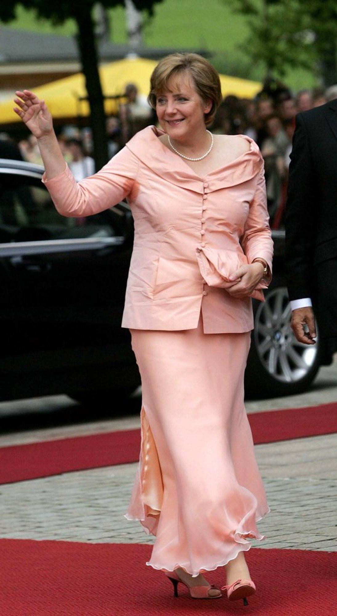 Angela Merkels Feet