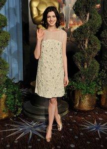 Anne Hathaway Oscars
