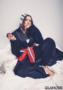 Anne Hathaway Glamour Magazine