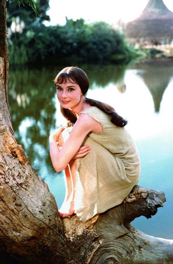 Audrey Hepburns Feet