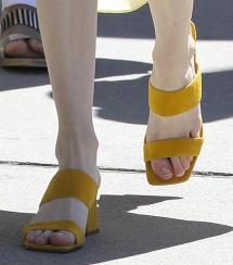 Emma Roberts' Feet