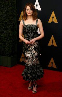 Emma Stone Awards Governor 2016