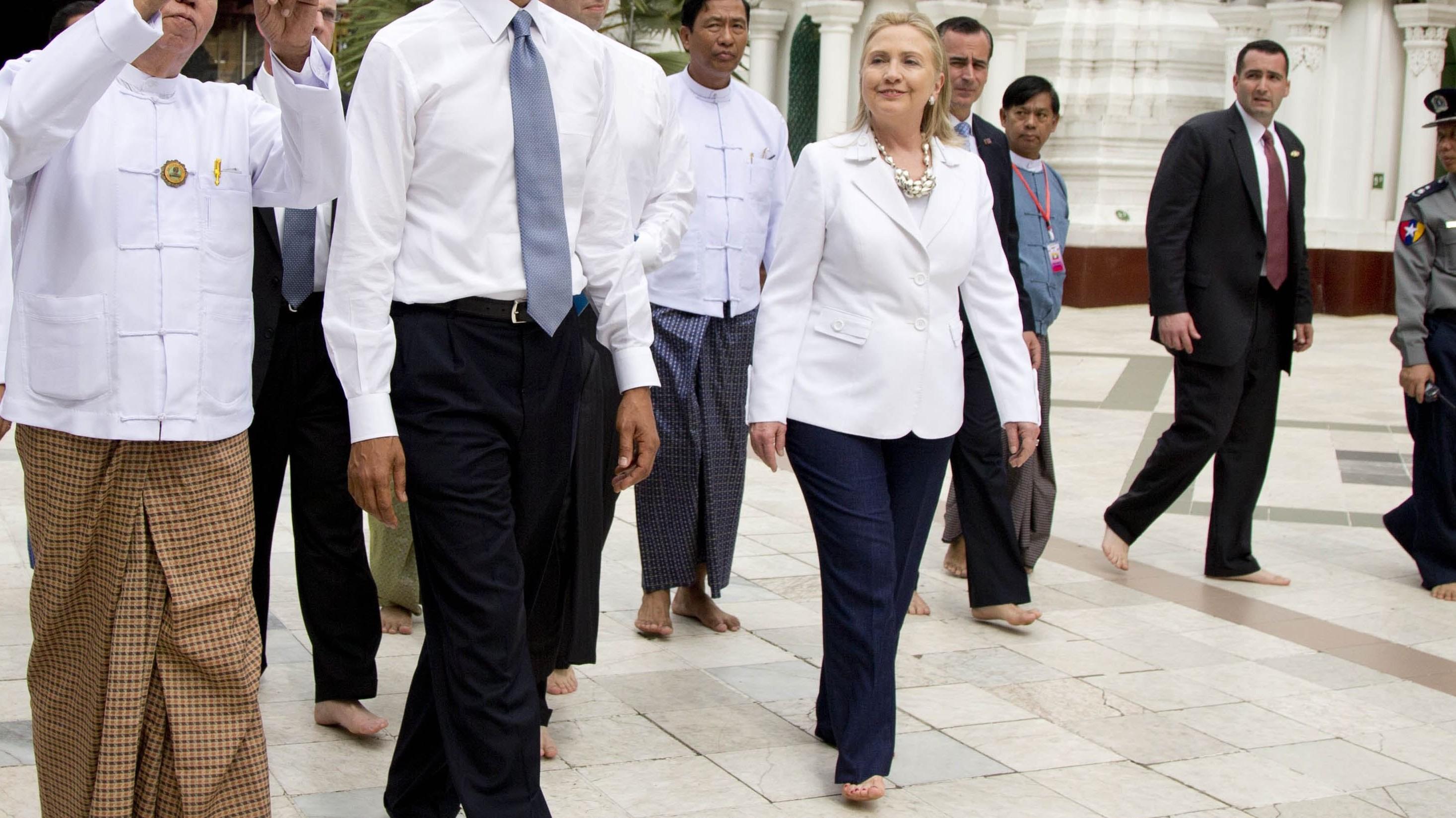 Feet Hillary Clinton nude photos 2019