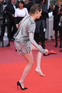 Cannes Kristen Stewart Legs