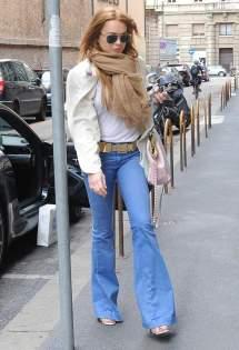 Lindsay Lohan' Feet