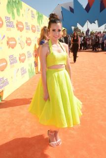 Megan Nicole Kids Choice Awards 2015