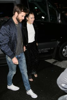 Liam Hemsworth and Miley Cyrus 2018