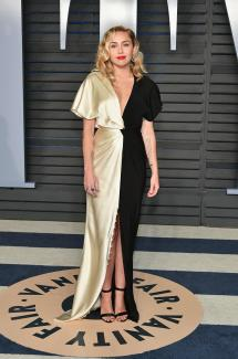 Miley Cyrus Vanity Fair Oscar Party 2018