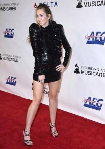 Miley Cyrus' Feet