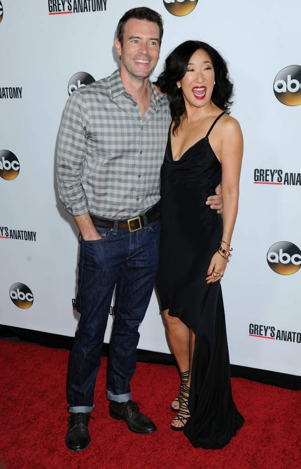 Scott Foley & Sandra Oh