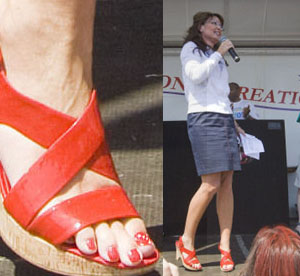 Sarah Palin Feet Compilation CelebFeetScene