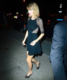 Taylor Swift After Party Saturday Night Live