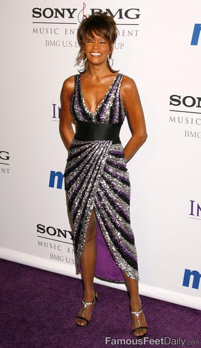 Whitney Houstons Feet