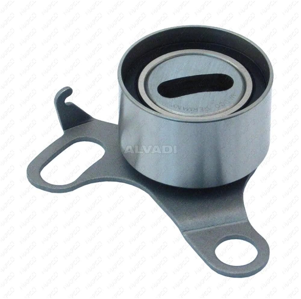 medium resolution of tensioner pulley timing belt mapco 23872