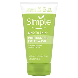 Simple Moisturizing Facial Wash
