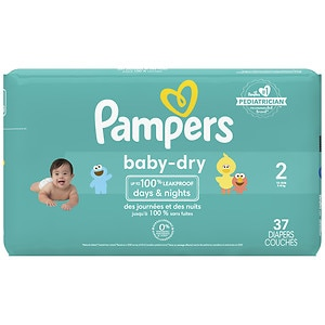 Pampers Baby Dry Diapers Size 2 Jumbo Pack drugstorecom