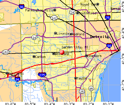 Garden City Michigan (MI 48135 48185) profile ...