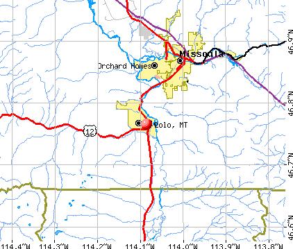 Lolo Montana (MT 59847) profile: population maps real ...