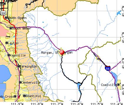 Morgan Utah (UT 84050) profile: population maps real ...