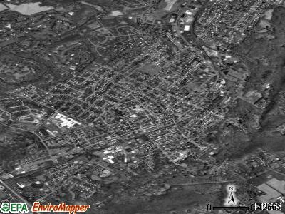 Emmaus satellite photo by USGS