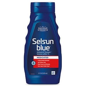 Selsun Blue Dandruff Shampoo Medicated Treatment ...