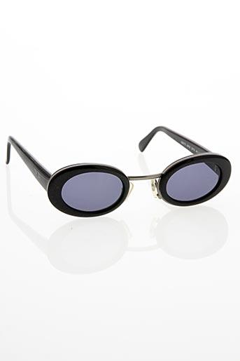 charles jourdan lunettes de soleil de couleur noir en soldes pas cher 1376559 noir00 modz