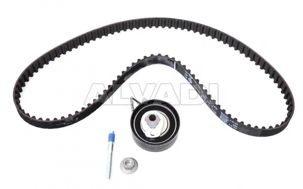 Pulley kit with timing belt INA 530033510 for Peugeot, Citroen