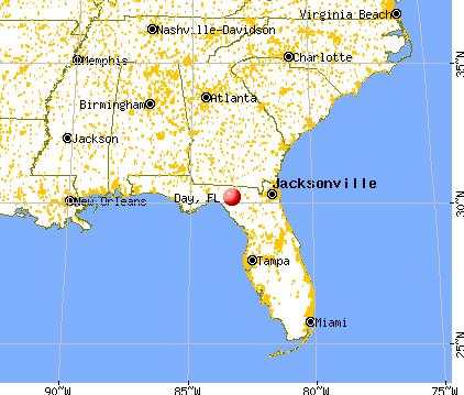 Day Florida (FL 32066) profile: population maps real ...
