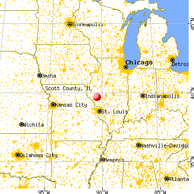 Scott County Illinois Detailed Profile Houses Real