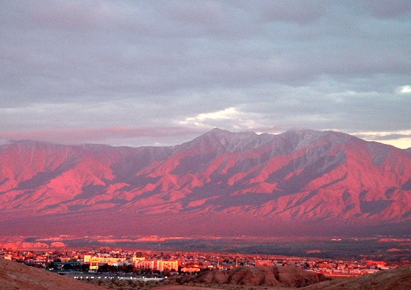 Mesquite NV  Mountains in Mesquite photo picture image