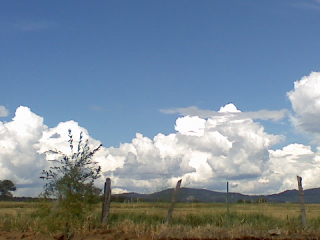 Bayfield CO  HD Mountains and clouds from Mesa Meadows