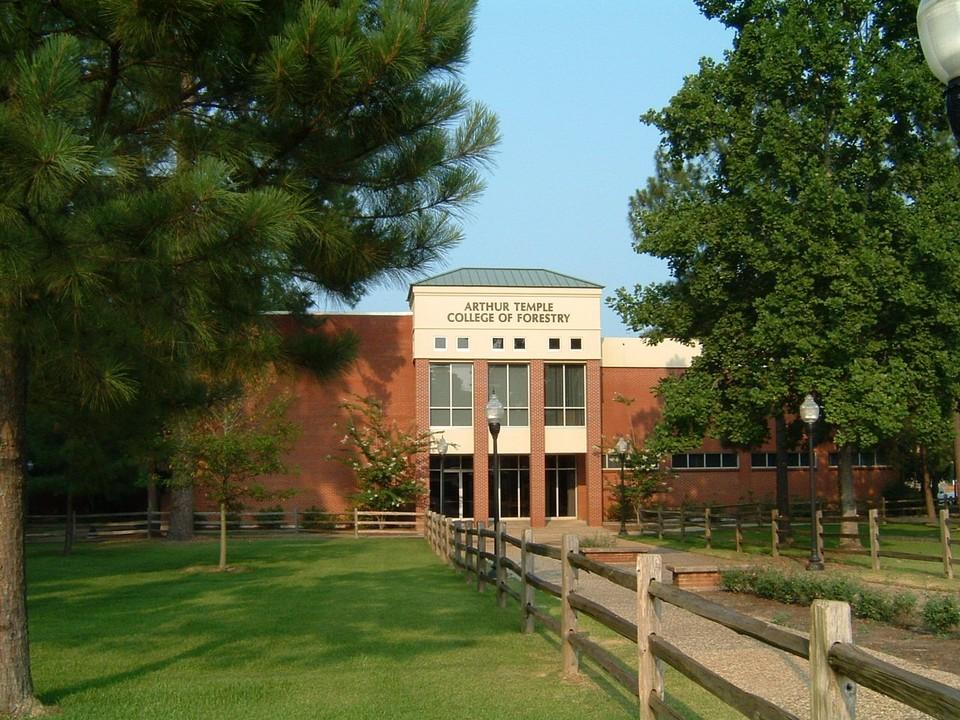 Nacogdoches TX SFA University Forestry Bldg Photo