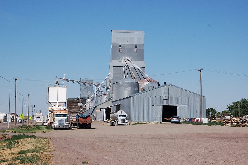 Chester MT Grain Elevator Photo Picture Image