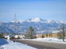 Colorado Springs Snow
