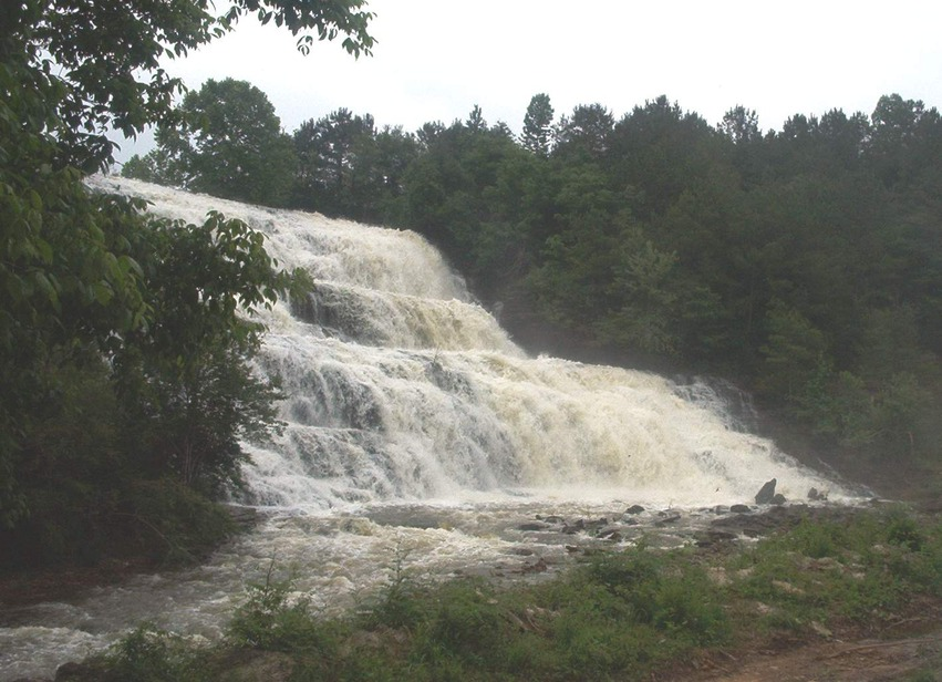 Lake Catoma Cullman Al Waterfalls