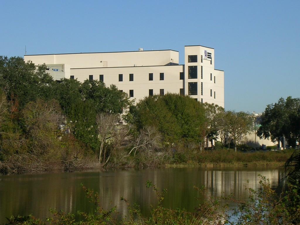 Brandon FL  Brandon Regional Hospital overlooking