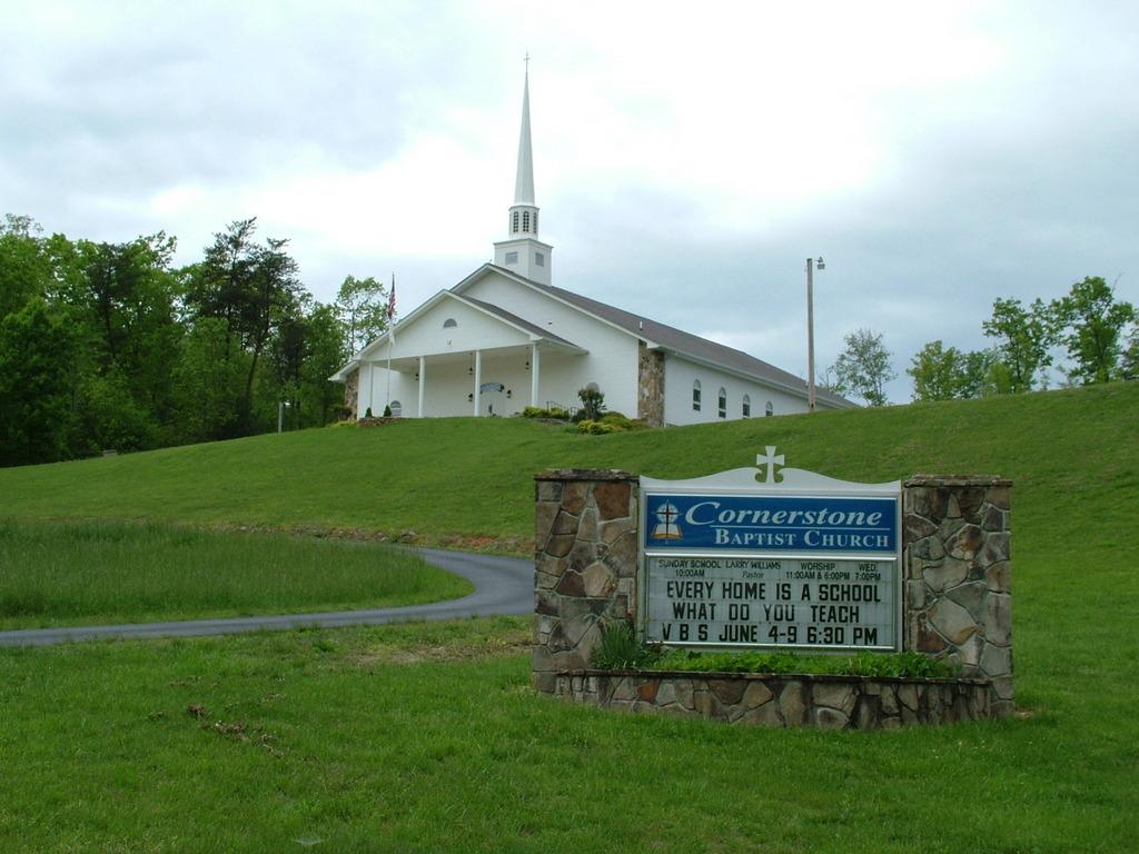 Young Harris GA  Cornerstone Baptist Church Young Harris