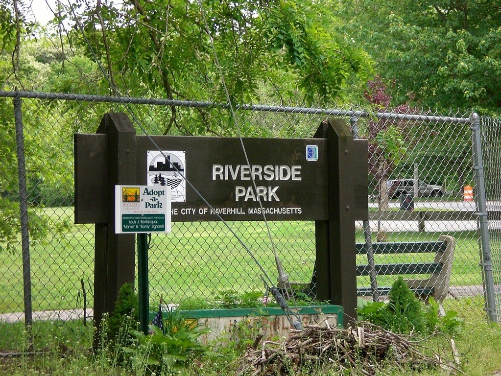 Haverhill MA  Riverside Park photo picture image Massachusetts at citydatacom