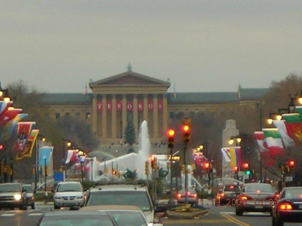 Philadelphia PA  benjamin franklin pkwy photo picture
