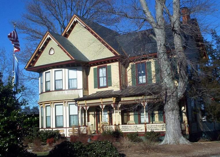 Bowling Green VA  Kenmare House  Circa 1880 On Milford