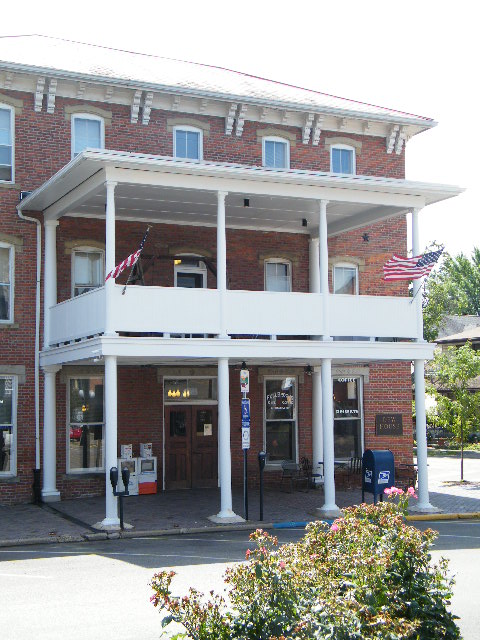 Nelsonville OH  Nelsonville Ohio  Historic Dew Hotel  The Dew Hotel is also located on