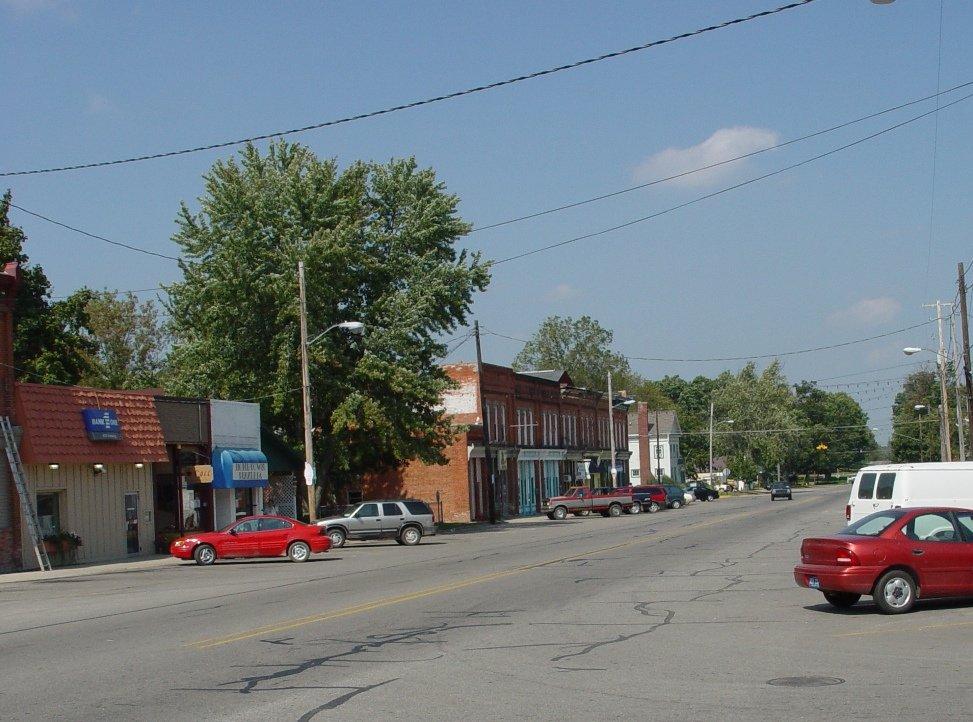 Byron MI Downtown Byron Photo Picture Image Michigan