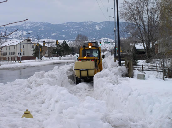Fort Collins CO Ft Collins In Winter Photo Picture